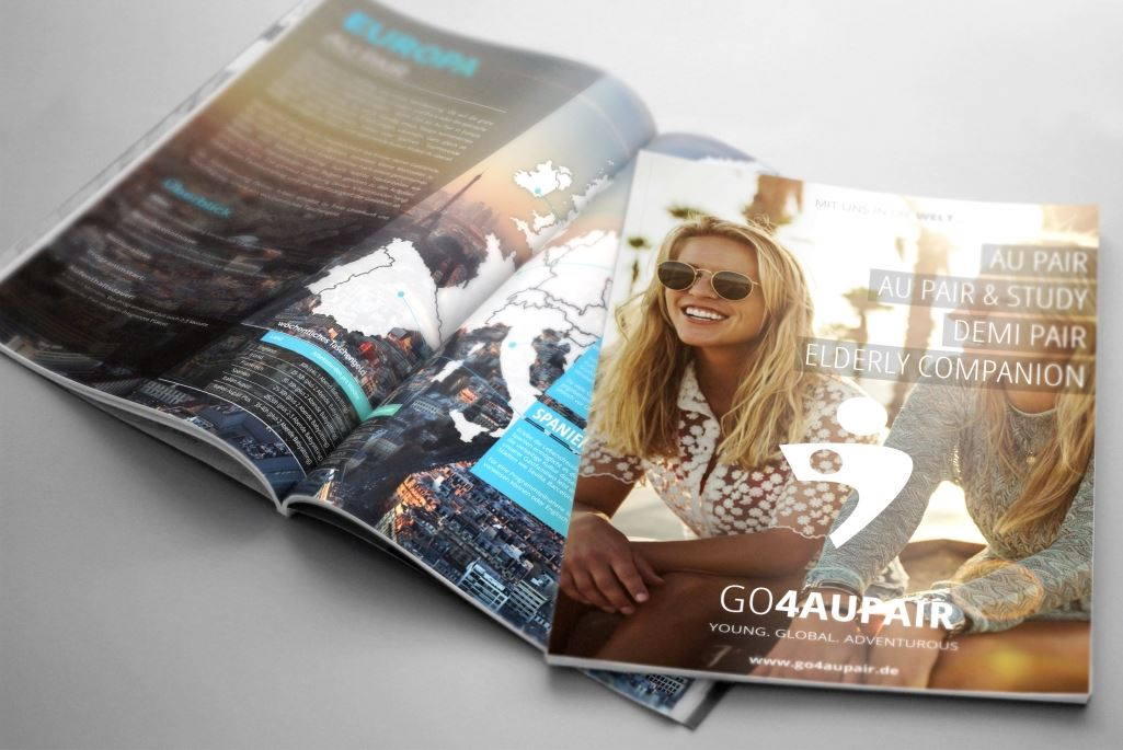 go4aupair Broschüre